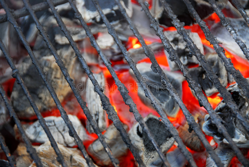 Réseau de barbecue photo stock