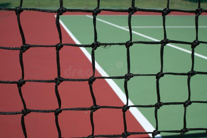 Réseau de court de tennis photo stock