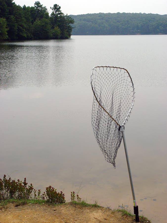 Réseau de poissons photo stock