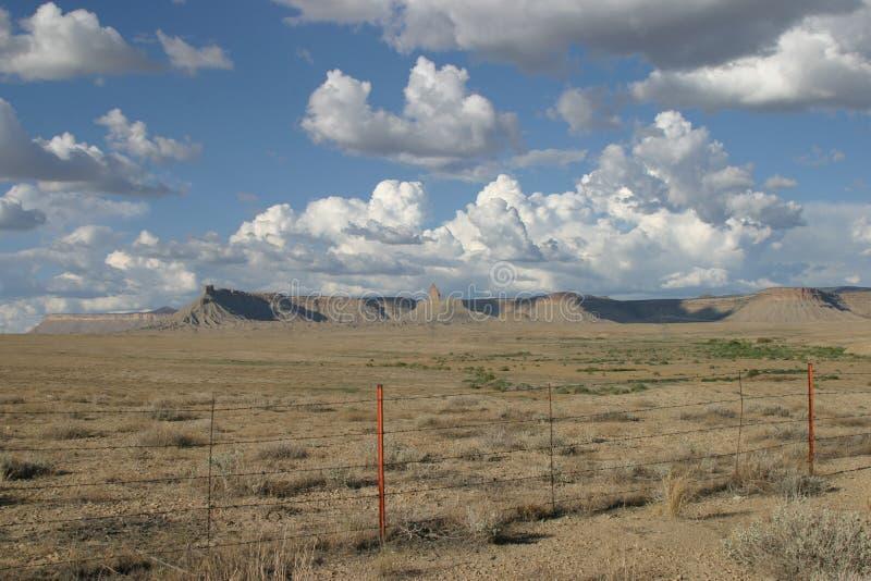 Réservation indienne dans le Colorado photo stock