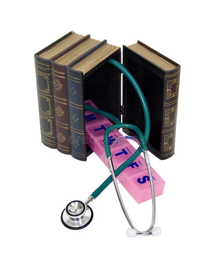 réserve l'information médicale images stock