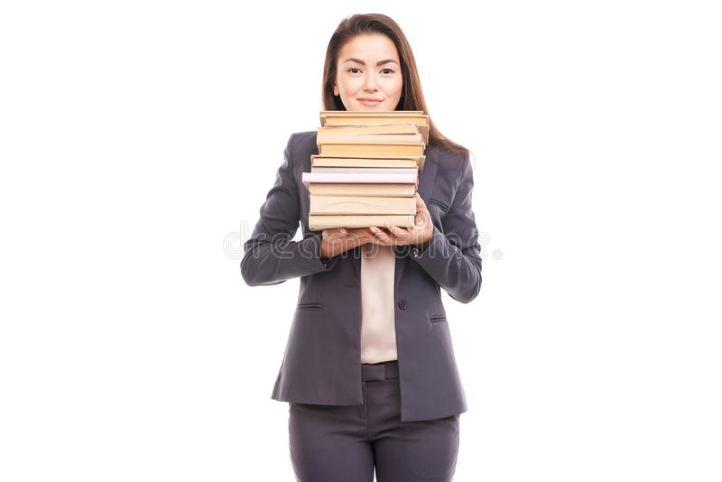 réserve la femme d'affaires image libre de droits