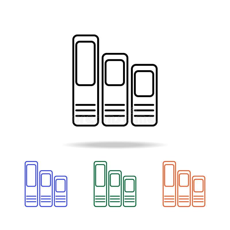 Réserve le graphisme Éléments d'icône simple de Web dans la couleur multi Icône de la meilleure qualité de conception graphique d illustration de vecteur