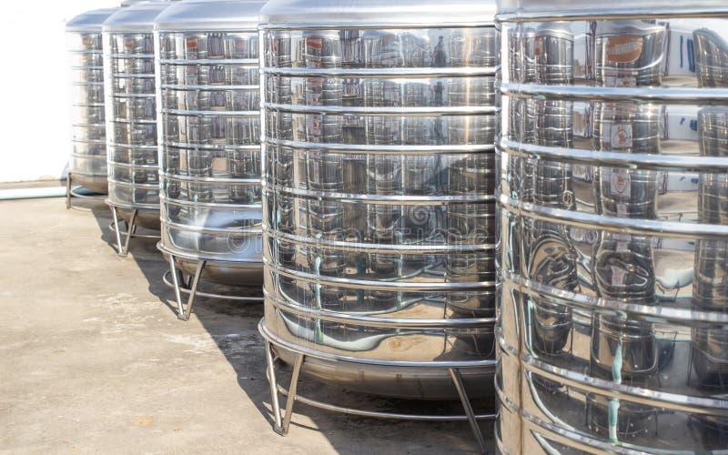 Réservoir d'eau image libre de droits