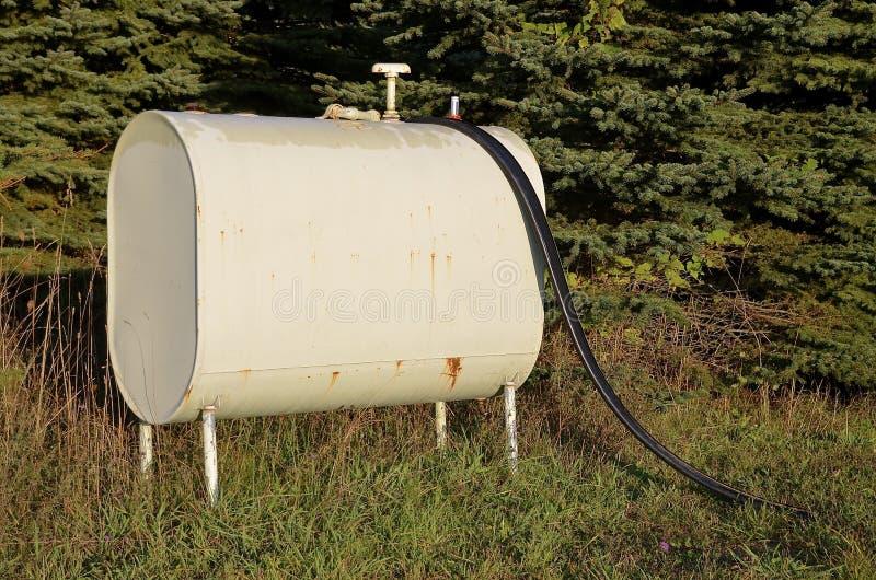 Réservoir d'essence de vintage image stock