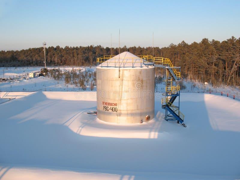 Réservoir d'huile image libre de droits
