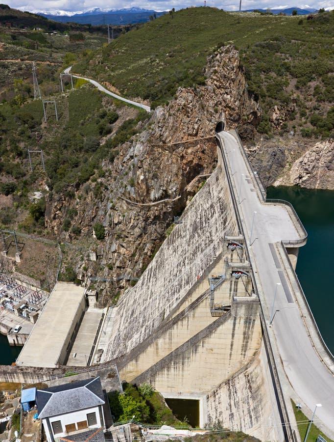 Réservoir de barrage photo libre de droits