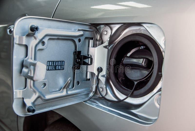 Réservoir de carburant d'essence images stock
