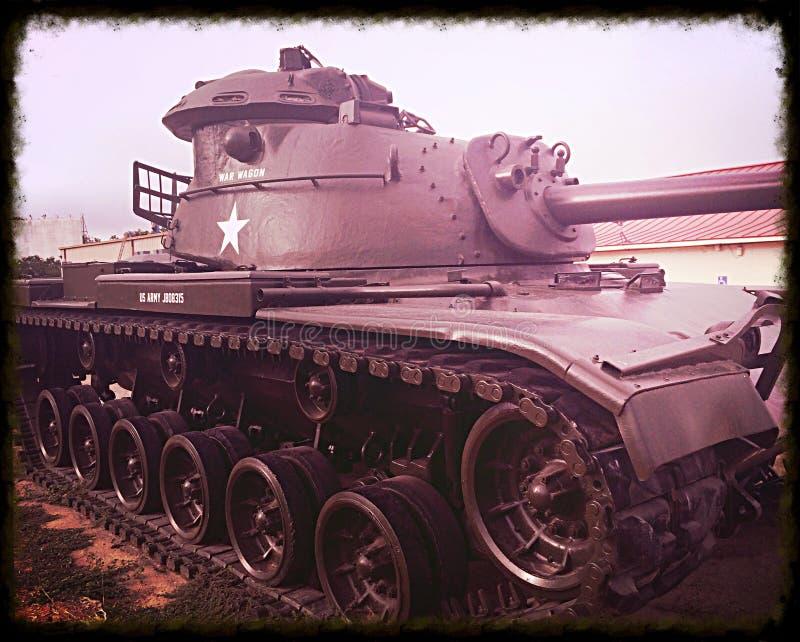 Réservoir de Sherman de la deuxième guerre mondiale image libre de droits