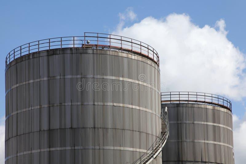Réservoir de stockage du combustible photos stock