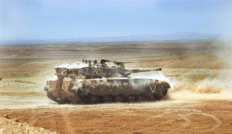 Réservoir israélien de merkava images libres de droits