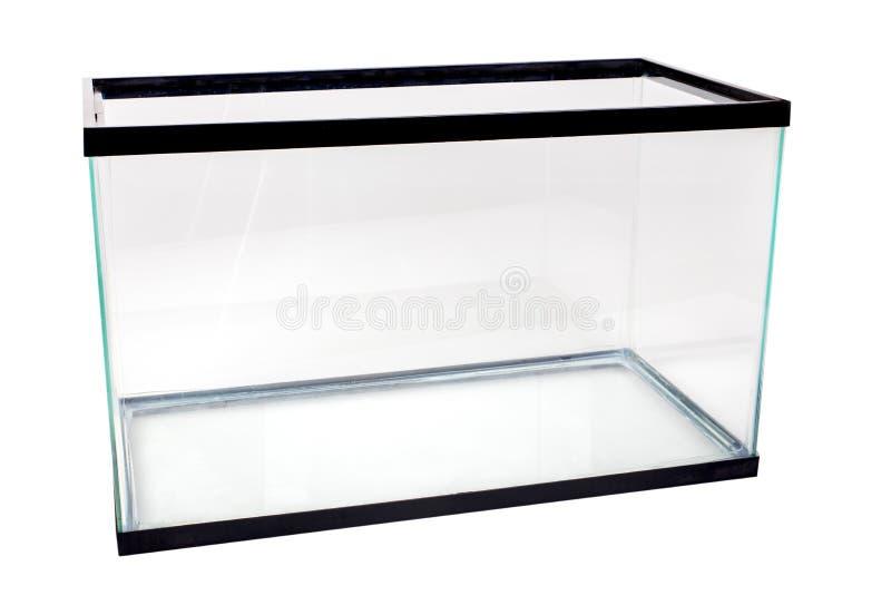 Réservoir vide d'aquarium images stock