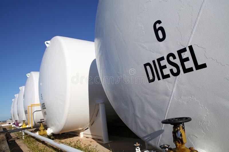 Réservoirs de carburant photos stock
