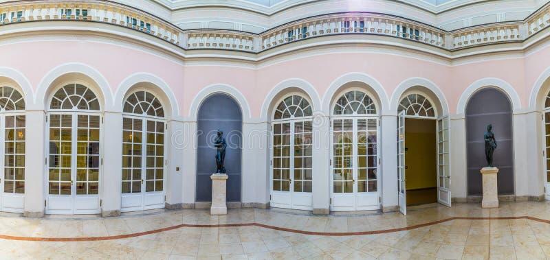 Résidence célèbre intérieure de Munich photo libre de droits