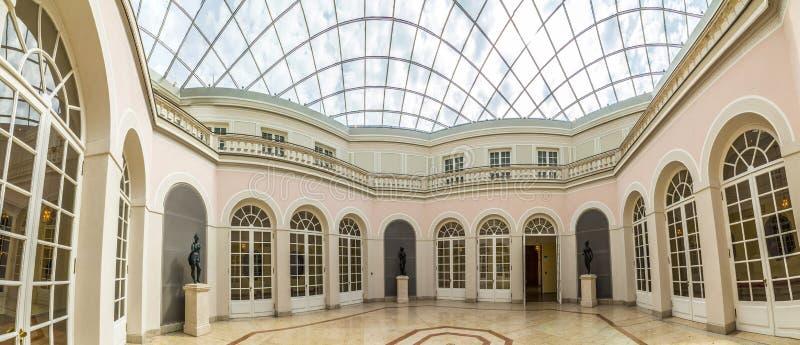 Résidence célèbre intérieure de Munich photographie stock