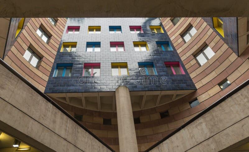 Résidence dans la ville de Londres photos libres de droits