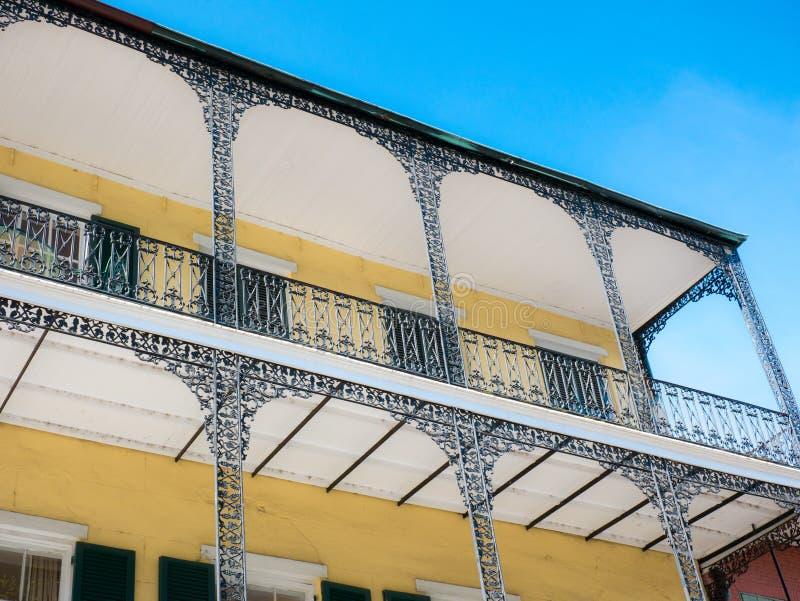 Résidence dans le quartier français de la Nouvelle-Orléans, États-Unis photos stock