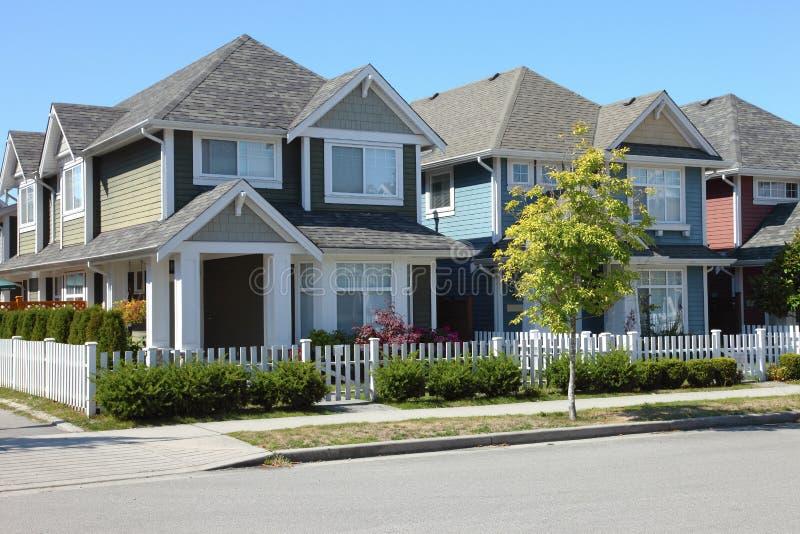 Résidences à Richmond BC Canada. photo libre de droits