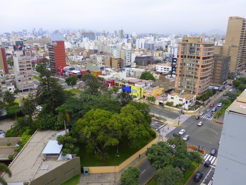 Résidences dans la ville photos stock