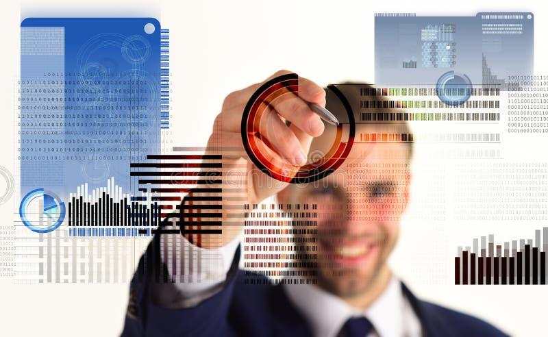 Résolvez le bloc gagnent le bénéfice Technologie de Blockchain Futur argent numérique Crypto devise d'investissement Virtuel inte photo libre de droits