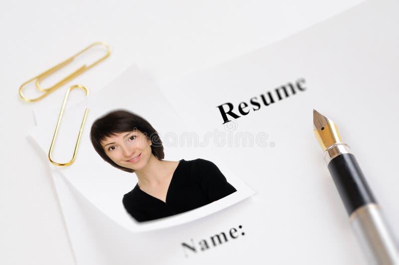 Résumé photos stock