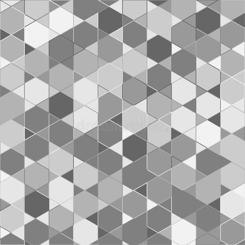 Résumé coloré aléatoire, art génératif numérique pour la texture de conception et fond illustration libre de droits