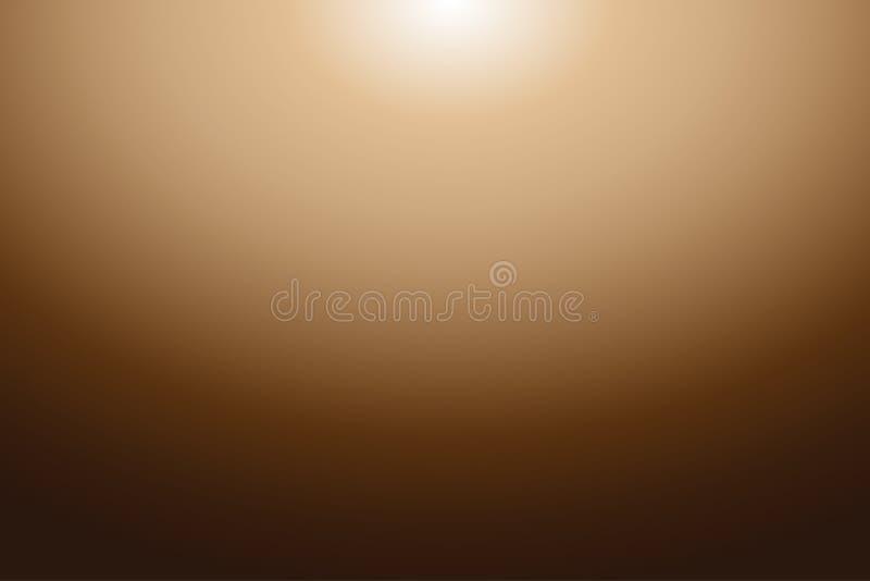 Résumé coloré Brown Tone Gradient Background pour votre conception graphique photos stock