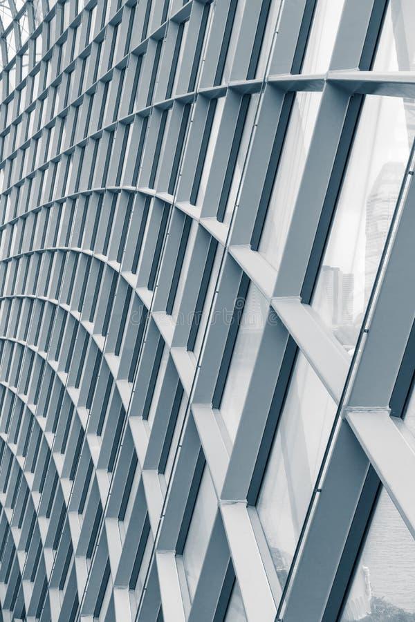 Résumé de la toiture de cadre en acier de structure, fond images stock