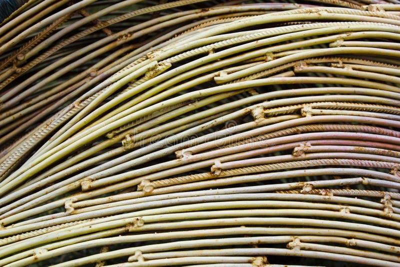 Résumé des métaux de fil machine en cuivre Concept d'industrie et de marché boursier photos stock