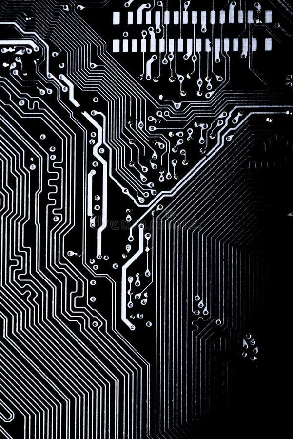 Résumé, fin de fond d'ordinateur électronique de Mainboard panneau de logique, carte mère d'unité centrale de traitement, conseil photos stock