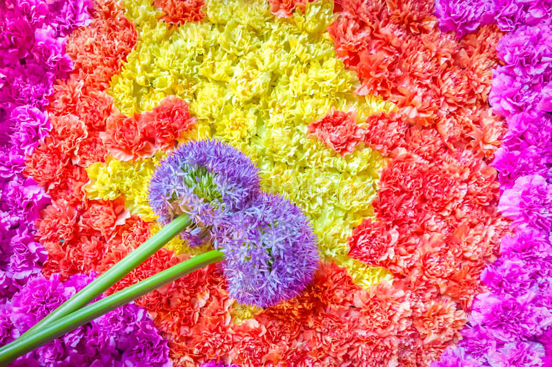 Résumé floral images stock