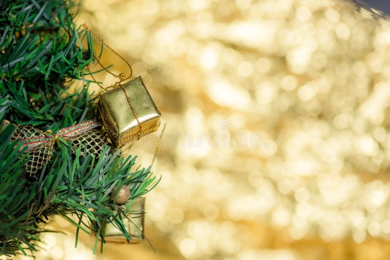 Résumé flou de Noël Arbre de Noël arrière-plan photos stock
