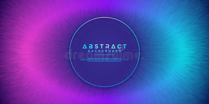 Résumé, milieux dynamiques et modernes pour vos éléments de conception et d'autres, avec la couleur pourpre et bleu-clair de grad illustration de vecteur