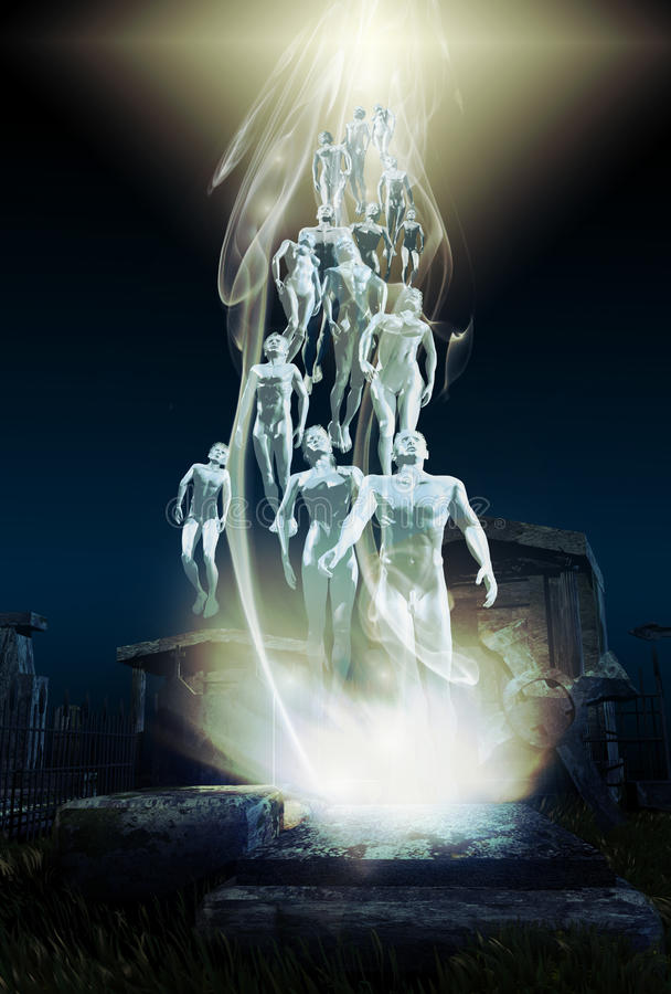 résurrection illustration stock