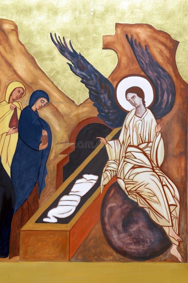 résurrection du Christ image libre de droits