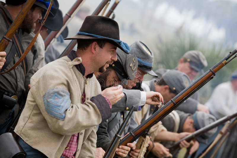 Download Rétablissement 2008 De Guerre Civile Image stock éditorial - Image du north, reconstitution: 8657154