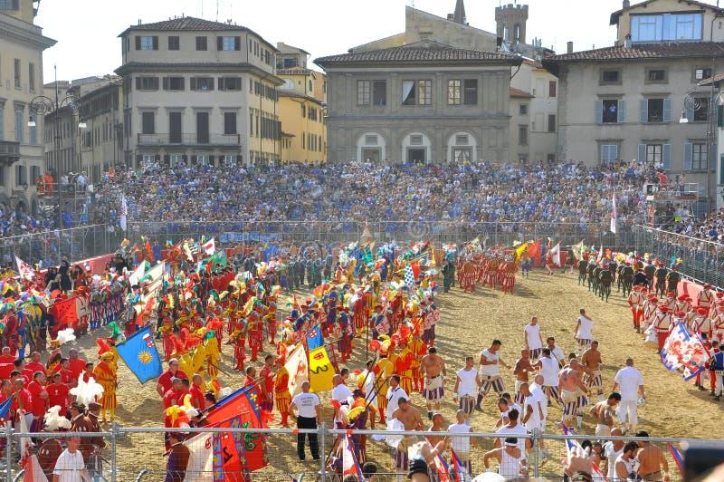 Rétablissement médiéval en Italie photographie stock