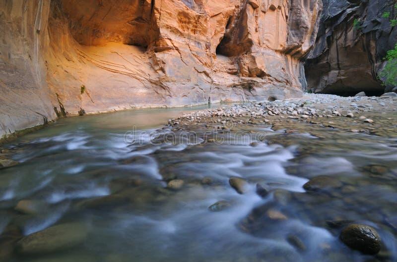 rétrécit la vierge de fleuve image stock