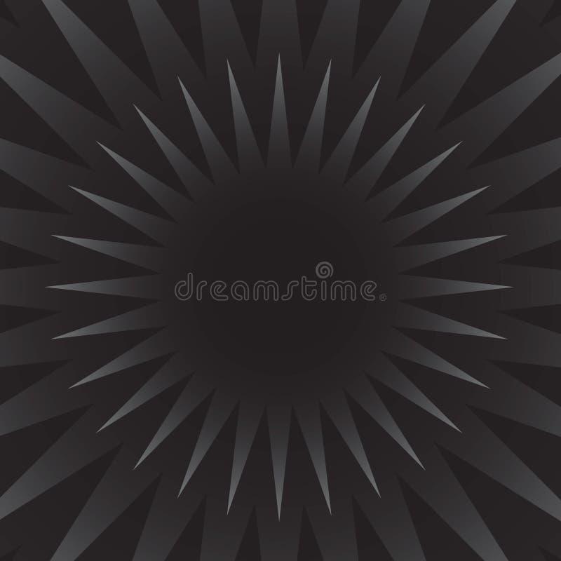 Rétro éclat d'étoile illustration de vecteur