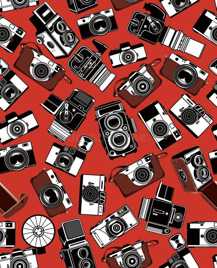 Rétro appareil-photo illustration libre de droits