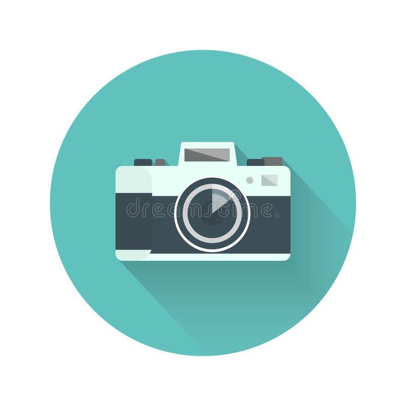 Rétro appareil-photo illustration stock