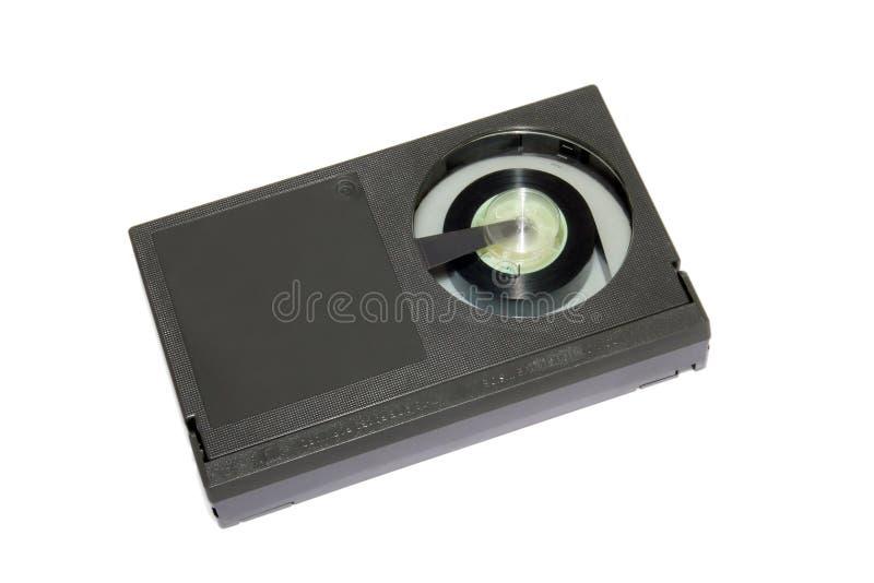 Rétro bêta cassette de bande visuelle images stock