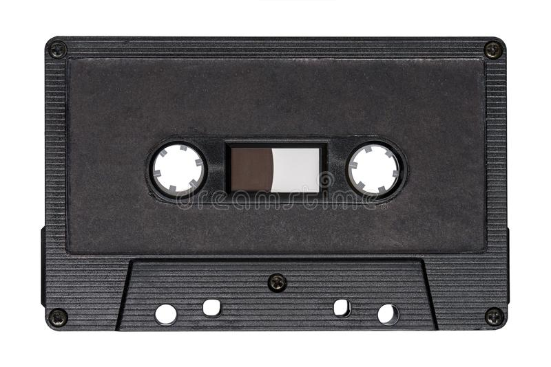 Rétro bande audio noire avec photo libre de droits