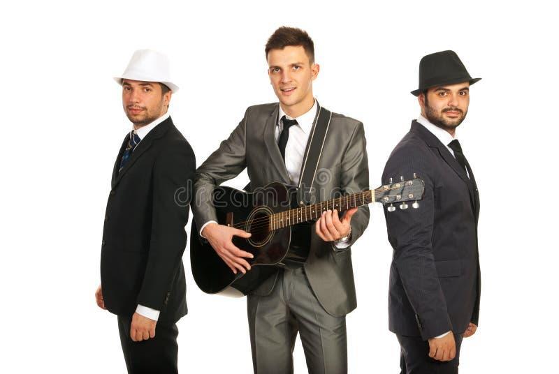 Rétro bande musicale photo libre de droits