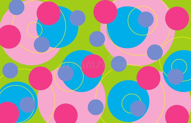 Rétro boucles - bonbon illustration libre de droits