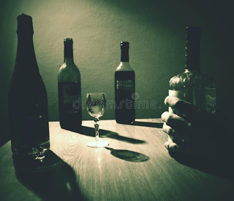 Rétro bouteille images libres de droits