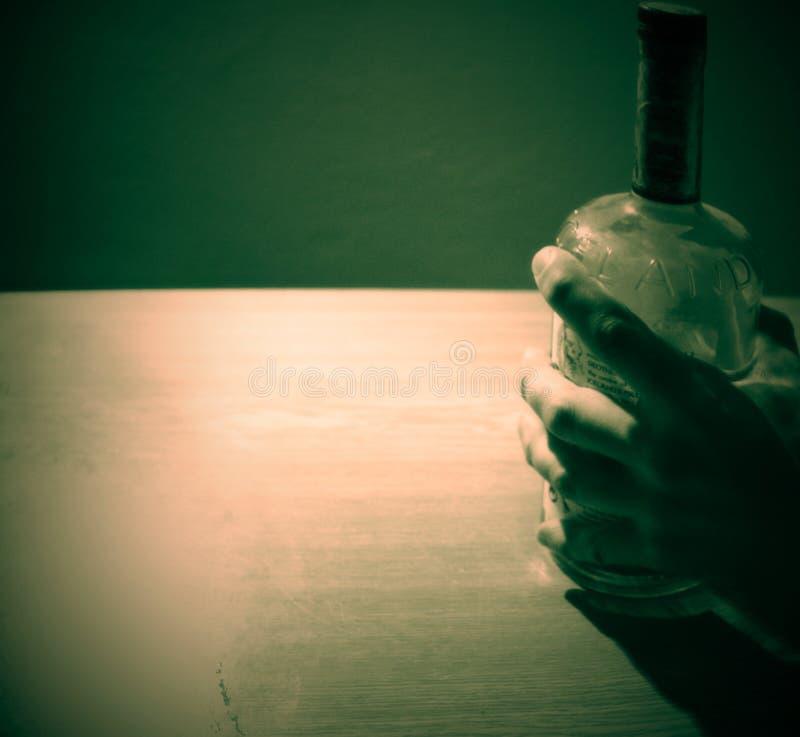 Rétro bouteille images stock
