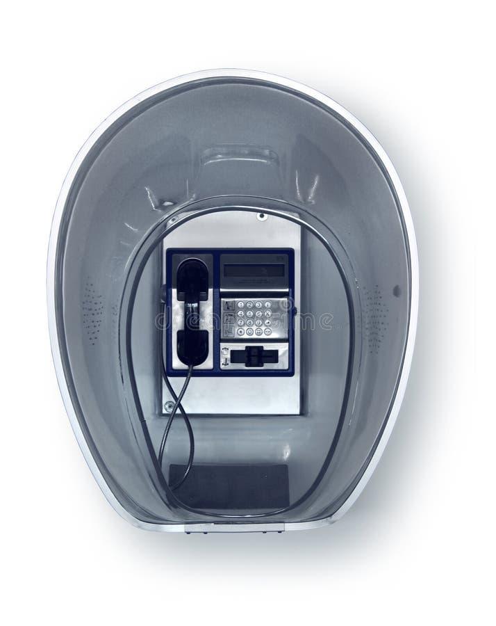 Rétro cabine de téléphone images stock