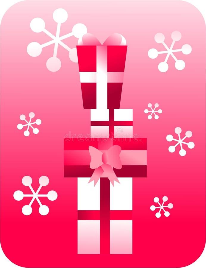 Rétro cadeaux illustration stock