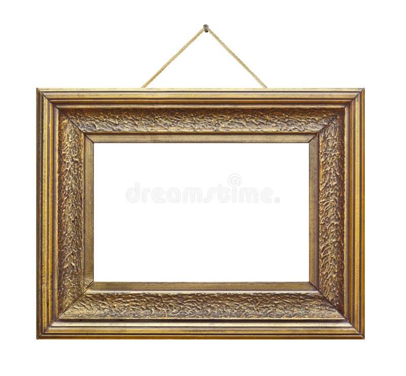 Rétro cadre sur la corde photos stock